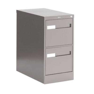 Global 2600 Plus Series Files, 2-Drawer, Legal-Size, Grey W/LOCK W/RECESSED PULL20Y WARR FULL CRADLE SUSP. 26-1/2 DEPTH