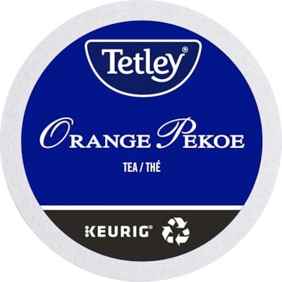 Tetley Tea Single-Serve K-Cup Pods, Orange Pekoe, Box of 24 24/BX  KEURIG