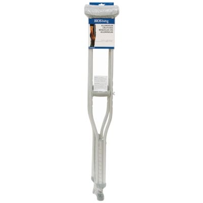 BIOS Living Aluminum Crutches 2/SET ALUMINUM