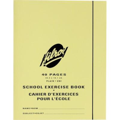 Cahier d'exercices pour l'école Hilroy UNI  40 PAGES
