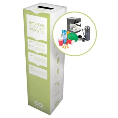 TerraCycle Break Room Zero Waste Box BOX DIMENSIONS: 10 X 10 X 18