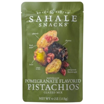 Sahale Snacks, Pomegranate Flavoured Pistachios Glazed Mix, 113 g, 6/CS