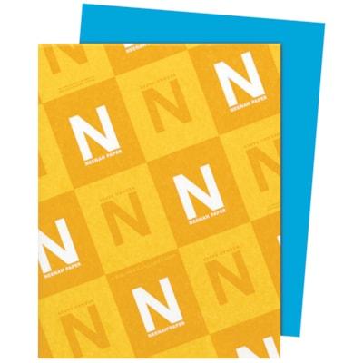 Papier Astrobrights Neenah, bleu ciel, format lettre, certifié FSC et Green Seal, 24 lb, rame FSC LASER INKJET GUARANTEED CELESTIAL BLUE