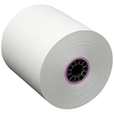 """Rouleaux de papier bond McDermid 165'  12/PQT  PAPIER BOND SANS REVÊTEMENT 2-3/4""""DIAMÈTRE"""