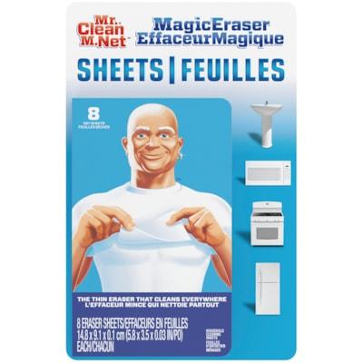 Feuilles Effaceur Magique M. Net, emb. de 8 8 SHEETS PER PACK