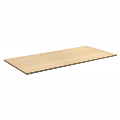 """HDL Innovations Height-Adjustable Table Top, Hardrock Maple, 72"""" x 30"""" HARD ROCK MAPLE FINISH 72""""W X 30""""D"""