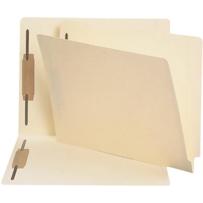 Smead End Tab Fastener File Folder, Manila, Letter-size, 50/BX SHELF-MASTER STRAIGHT-CUT TAB LETTER SIZE/MANILA