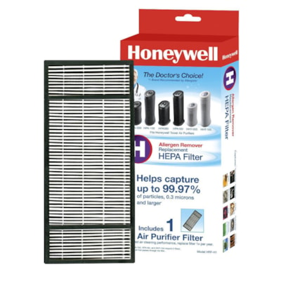 Honeywell True HEPA Air Purifier Replacement Filter (H) HELPS CAPTURE 99.97% PARTICLES INCLUDES 1 AIR PURIFIER FILTER
