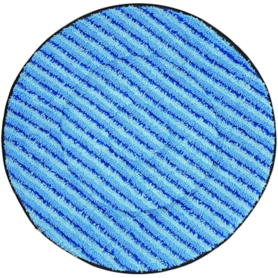 """Diversey SuperCourt Auto Scrubber Microfibre Cleaning Pads, Blue, 20"""", 5/CT ONLY USE WITH AUTOSCRUBBER BONA"""