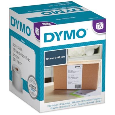 "DYMO LabelWriter Thermal 4XL Shipping Labels, White, 4"" x 6"", 220 Labels/BX 22O LABELS/BOX"