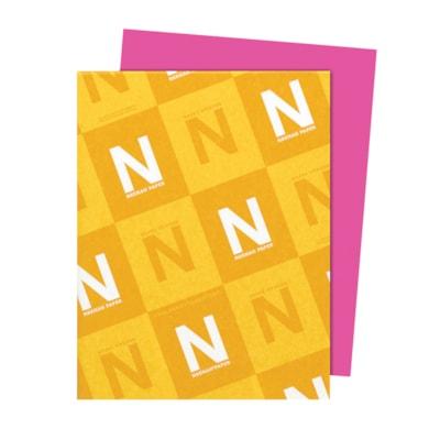 Papier Astrobrights Neenah, fuchsia boule de feu, format lettre, certifié FSC et Green Seal, 24 lb, rame FSC LASER JET D'ENCRE GARANTIE FIREBALL FUCHSIA