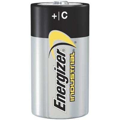 "Energizer Industrial ""C"" Alkaline Batteries, 12/PK (EN93) NOT FOR RETAIL SALE"