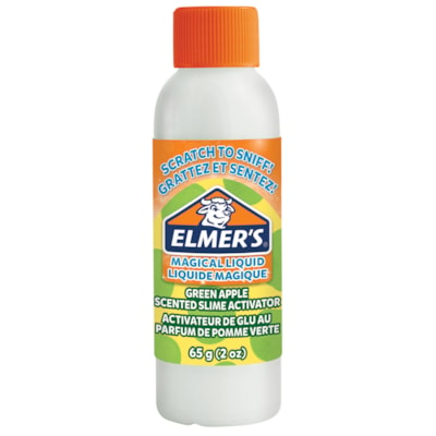 Elmer's Magical Liquid Slime Activator, Green Apple, 2 oz GREEN APPLE