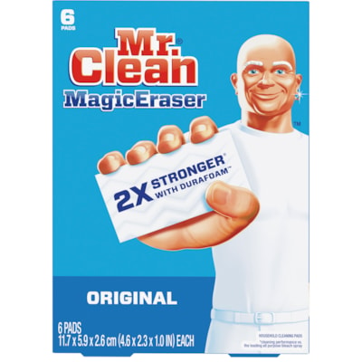Mr. Clean Magic Eraser Original Cleaning Pads, Pack of 6 6 PACK