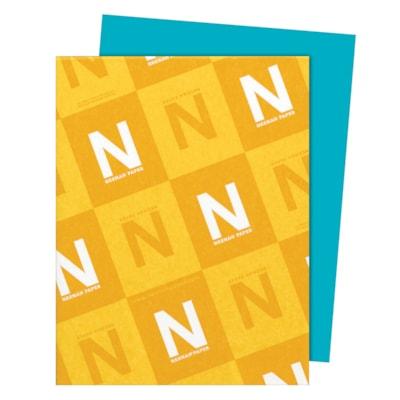Papier Astrobrights Neenah, sarcelle terrestre, format lettre, certifié FSC et Green Seal, 24 lb, rame FSC LASER JET D'ENCRE GARANTIE TEAL TERRESTRE