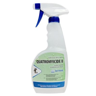 Dustbane Quatromyicide II Ready-To-Use No Rinse Sanitizer, 750 mL 750ML