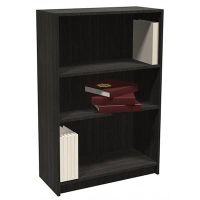 "HDL 3-Shelf Grey Dusk Bookcase GREY DUSK FINISH 32""W X 14""D X 48""H"