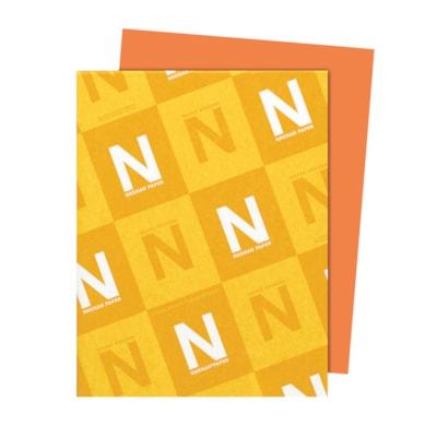 Papier Astrobrights Neenah, orange cosmique, format lettre, certifié FSC et Green Seal, 24 lb, rame FSC LASER JET D'ENCRE GARANTIE ORANGE COSMIC