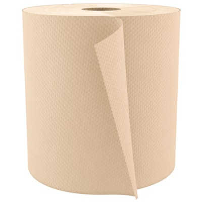 Cascades PRO Select 1-Ply Universal Hand Paper Towels, Natural, 800', 6/CS 6/CS NATURAL 6/CS CASCADES PRO SELECT