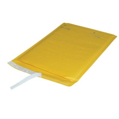"""PolyAir Ecolite Self-Adhesive 9 1/2"""" x 13 5/8"""" Bubble Mailers, Kraft, #4, Carton of 25 INTERNAL DIM:9 1/2''X13 5/8"""" EXTERNAL DIM: 10 1/2""""X14 1/8"""""""