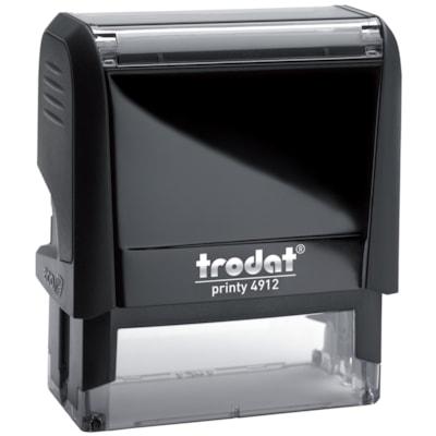 Trodat Printy 4912 DIY Custom Stamp with Online Voucher ONLINE VOUCHER  4 LINES UP TO 65% POST-CONSUMER WASTE