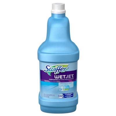 Recharge de nettoyant WetJet Swiffer, polyvalent, parfum open-window fresh, 1,25 l SOLUTION TOUT USAGE  RECHARGE POUR PG92811