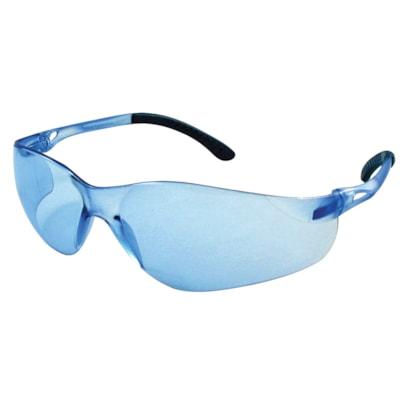 Dentec SenTec Safety Glasses, With Blue Mirror Lens LENS  RUBBERIZED TEMPLE TIPS CSA