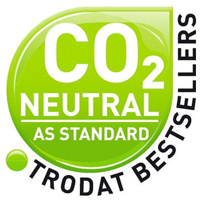 """Trodat Printy 4911 Climate Neutral """"SCANNED"""" Self-Inking Stamp"""