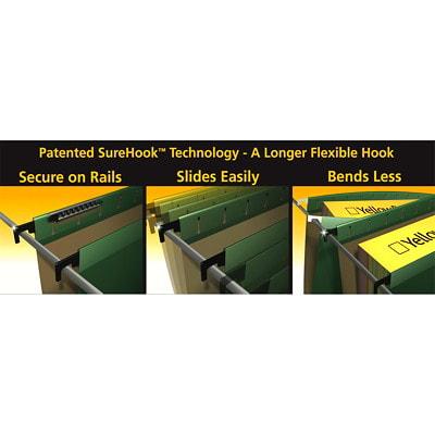 Pendaflex SureHook Hanging File Folders ASSORTED LETTER   SFI