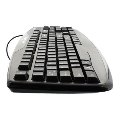 Seal Shield Silver Storm Waterproof - Keyboard - Black WATERPROOF - KEYBOARD  BLACK USB WIRED  US ENGLISH