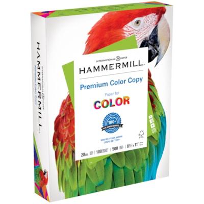 Papier Colour Copy Digital Hammermill 28LB LETTER PHOTOWHITE FSC CERTIFIED ACID FREE