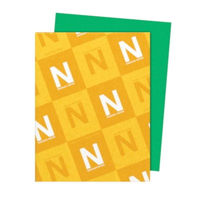 Papier Astrobrights Neenah, vert gamma, format lettre, certifié FSC et Green Seal, 24 lb, rame FSC LASER JET D'ENCRE GARANTIE GAMMA VERT