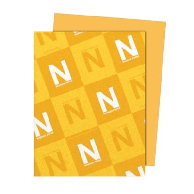 Papier Astrobrights Neenah, or galaxie, format lettre, certifié FSC et Green Seal, 24 lb, rame FSC LASER JET D'ENCRE GARANTIE GALAXY GOLD