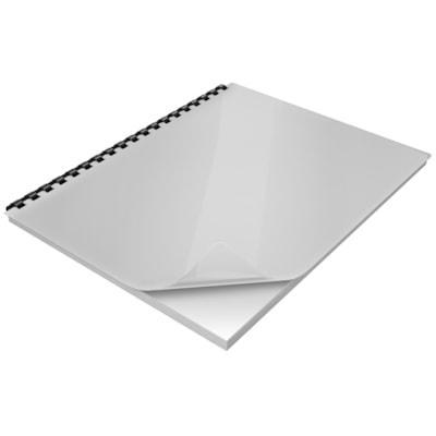 "Swingline GBC Linen Weave Presentation Covers, White, 200/BX SIZE 8 3/4"" X 11 1/4"" 30% PCW LINEN WEAVE BINDING COVER"