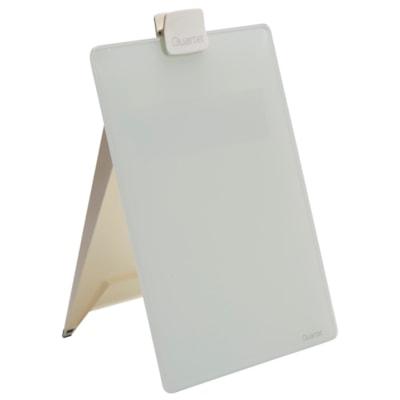 "Quartet Infinity Glass Desktop Easel, 9"" x 11"" GLASS DESKTOP QUARTET  INFINITY"