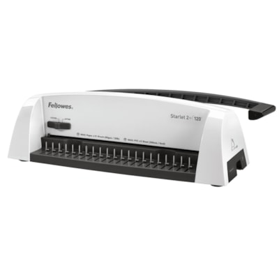 Perforelieuse manuelle Starlet 2+ Fellowes MANUALLY PUNCHES 12 SHEETS BINDS UP TO 120 SHEETS