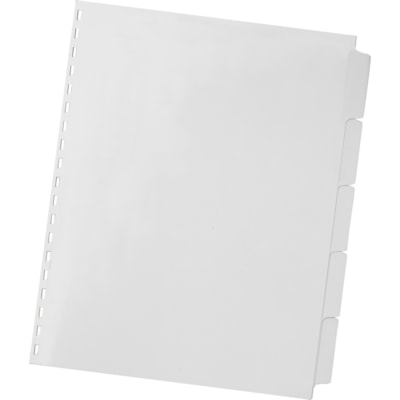 """Swingline GBC ZipBind Pre-Punched Tabs SIZE 8 1/2 X 11"""" BINDING COVER SET"""