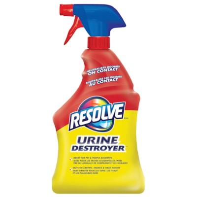 Resolve Urine Destroyer Carpet Cleaner, 946 mL SPRAY