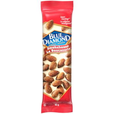 Blue Diamond Almonds, Smokehouse, 43 g, 12/BX BLUE DIAMOND ALMONDS