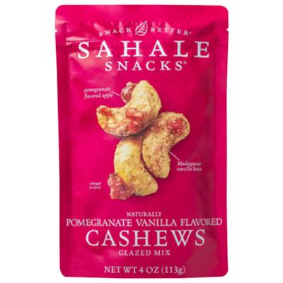 Sahale Snacks, Pomegranate Vanilla Flavoured Cashews Glazed Mix, 113 g, 6/CS