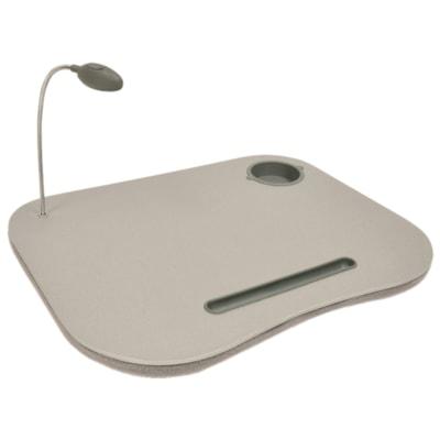 BIOS Living Portable Lap Desk LARGE WORK SURFACE FLEXIBLE GOOSENECK LAMP