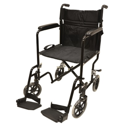 """BIOS Living Transport Chair, Black/Silver SEAT WIDTH 20"""" / 51CM WEIGHT CAPACITY 300LBS"""