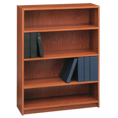 "Global Genoa Series 4-Shelf Bookcase, Avant Honey, 36"" x 12"" x 48"" AVANT HONEY 36""WX12""DX48""H  GLOBAL"