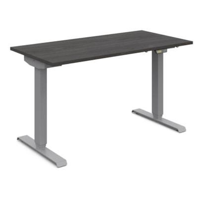Global Foli 3-Stage Electric Height-Adjustable Table, Dark Espresso PH3T2448 DES SI