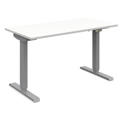 Global Foli 3-Stage Electric Height-Adjustable Table, Designer White PH3T2448 DWT SI
