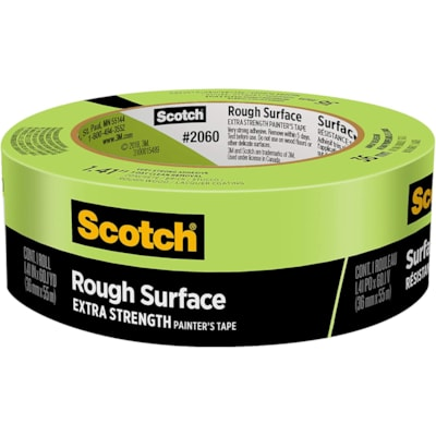 Scotch 2060 Rough Surface Painter's Tape, Green, 36 mm x 55 m GREEN PAINTER'S TAPE