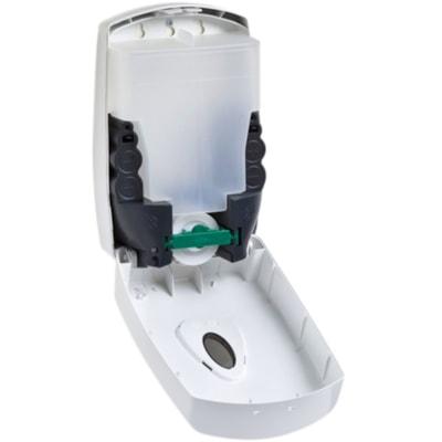 Distributeur sans contact de désinfectant et de savon en lotion pour les mains Northern Specialty Supplies, blanc, capacité de 1 200 ml AUTOMATIQUE  1.2L
