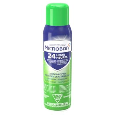 Désinfectant et assainisseur en vaporisateur Microban 24 heures, parfum frais, 425 g 425G