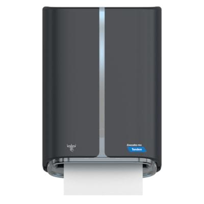 Cascades PRO Tandem Electronic Roll Towel Dispenser, Dark Grey ELECTRONIC DARK GREY
