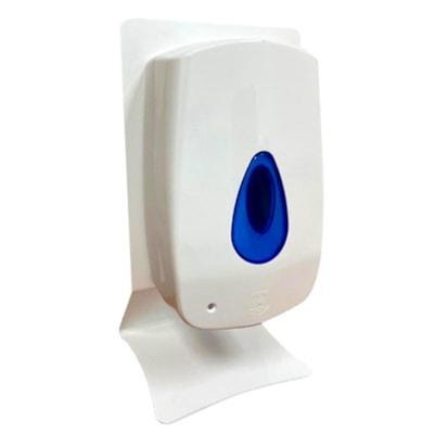 Support distributeur de désinfectant pour les mains de bureau Northern Specialty Supplies, blanc lustré USE WITH 295-677001 UNIVERSAL MOUNTING PLATE